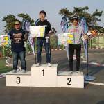 Pansik Yoon got 3rd in 4.5T modify class