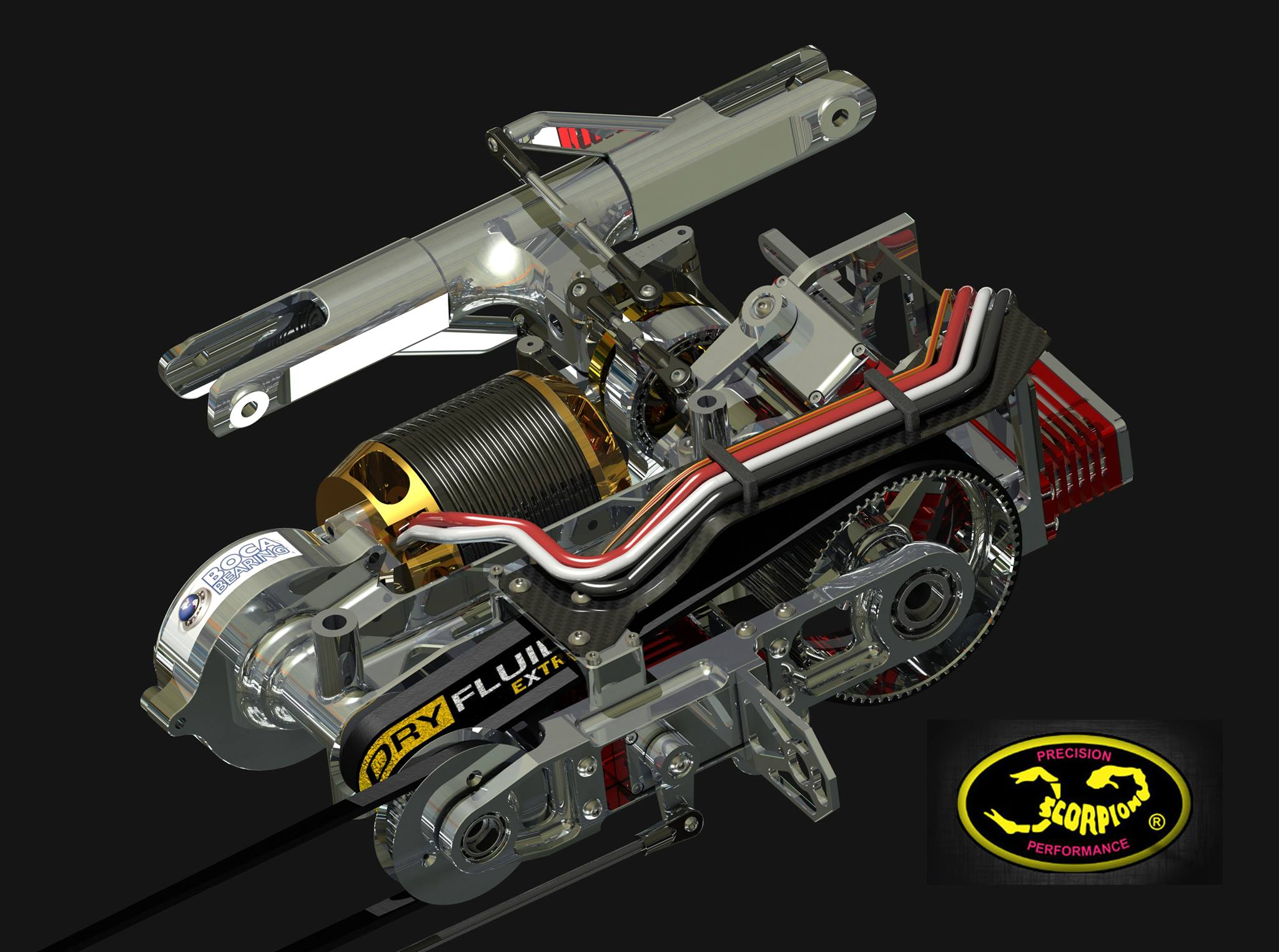 Oil Change Special >> Takumi Helicopter | Scorpion Power System Blog