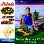 Kyle Dahl Dubai master championship 1st place