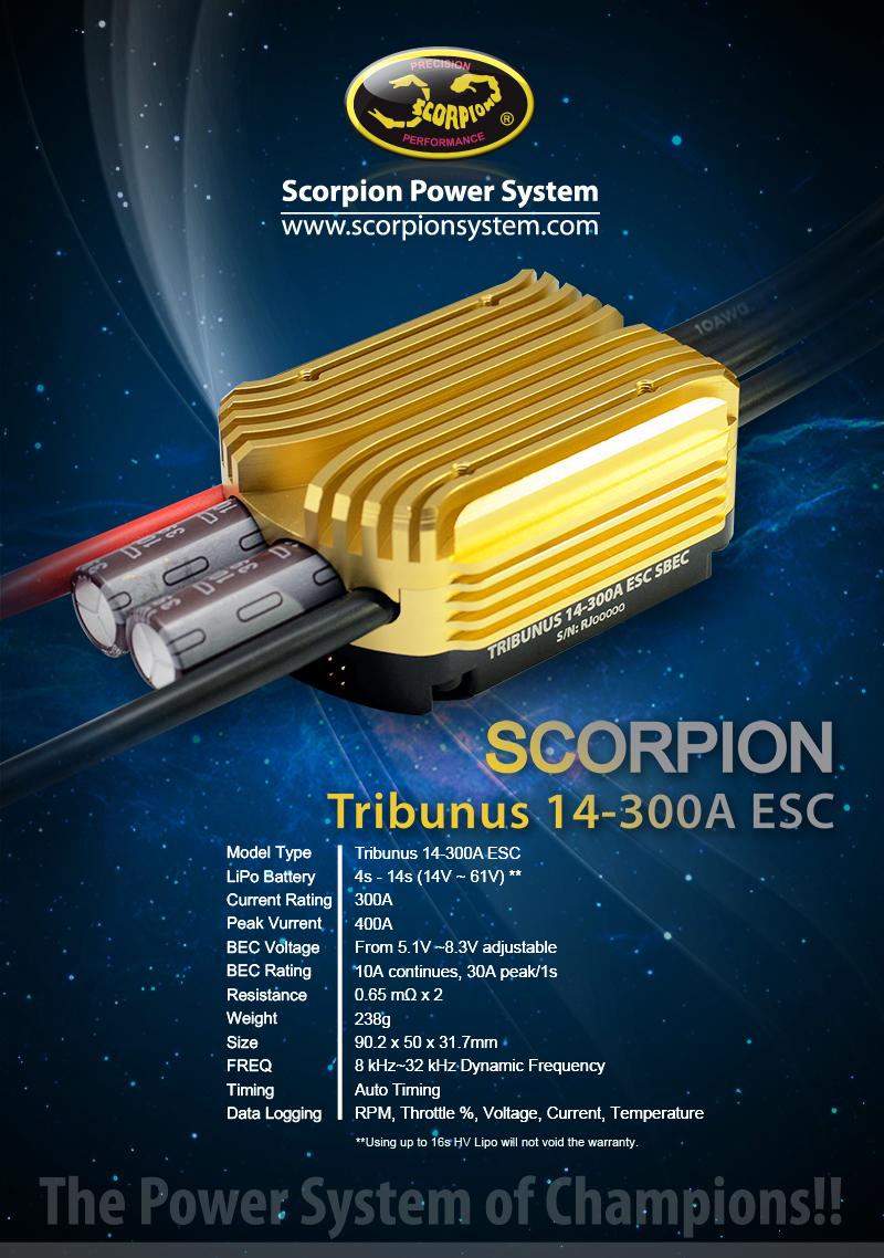 [Urun]: Scorpion Tribunus 14-300A ESC SBEC