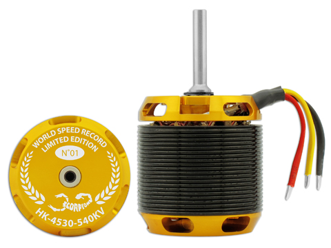 Scorpion HK-4530-540KV (Limited Edition) - Scorpion Power System
